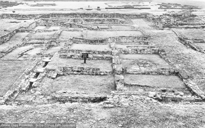 Photo of Corbridge, Corstopitum Roman Camp, Officer's House, Eastern Compound c.1930