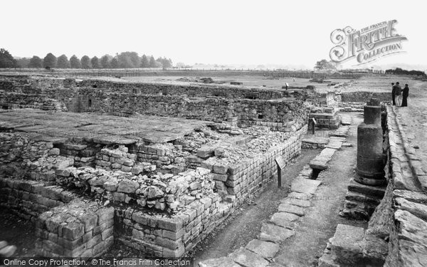 Photo of Corbridge, Corstopitum Roman Station c1950, ref. C459007