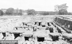 Corbridge, Corstopitum Roman Station c.1960