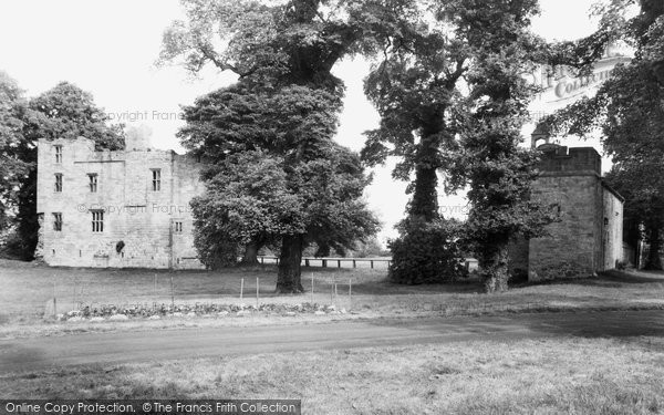 Photo of Corbridge, Dilston Castle and Chapel c1950, ref. C459009