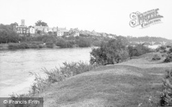 Corbridge, From Plantation c.1955