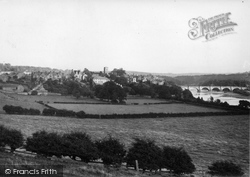 Corbridge, General View Of Town c.1955