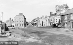 Corbridge, Main Street And Middle Street c.1955