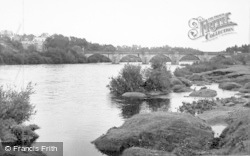Corbridge, River Tyne c.1955