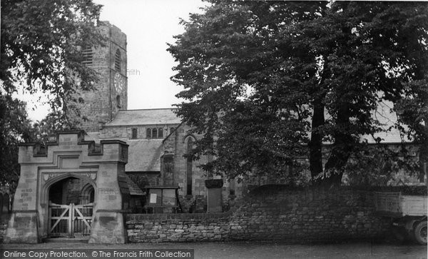 Photo of Corbridge, Parish Church c1955, ref. C459017