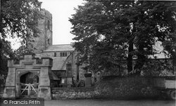 Corbridge, St Andrew's Church c.1955