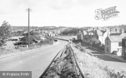 Corbridge, Station Road c.1960
