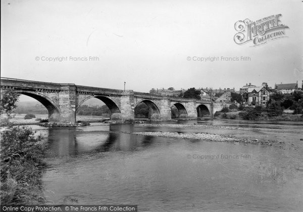 Photo of Corbridge, The Bridge From Stanners c.1950