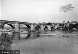 Corbridge, The Bridge From Stanners c.1950