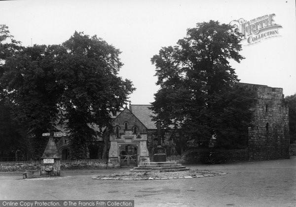 Photo of Corbridge, The Market Place c.1955