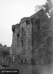The Pele Tower 1950, Corbridge