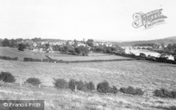 Corbridge, View From Corstopitum c.1950