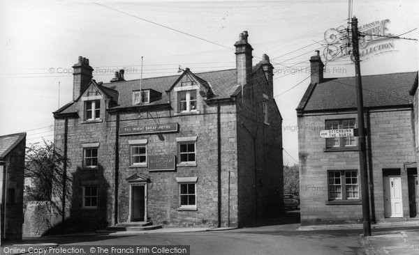 Photo of Corbridge, Wheat Sheaf Hotel c1960, ref. C459070