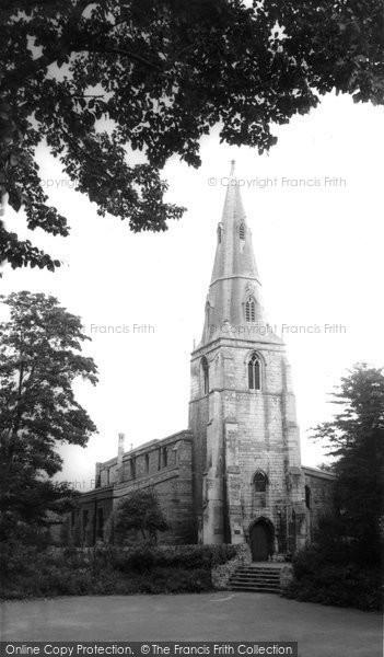 Photo of Corby, Church Of St John The Baptist c.1965