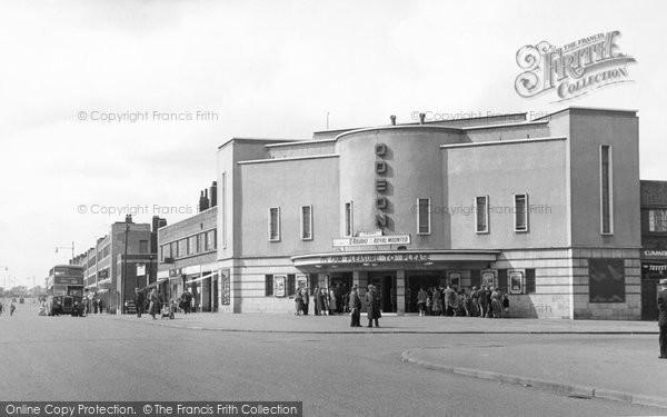 Photo of Corby, Odeon Cinema c.1955