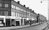 Corby, Rockingham Road Shops c1955