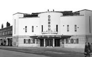 Corby, the Cinema c1955