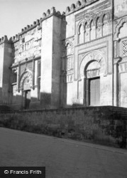 The Mosque c.1960, Cordoba