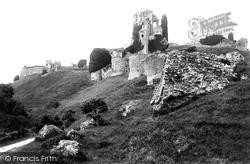 Corfe Castle, 1890