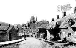Corfe Castle, East Street 1899