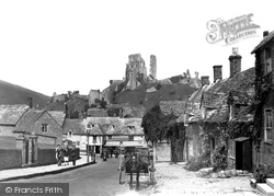 Corfe Castle, East Street 1931