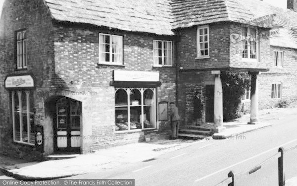 Photo of Corfe Castle, East Street, Clealls Stores c.1960