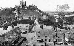 Corfe Castle, From The Church 1897