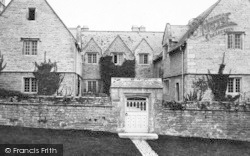 Corfe Castle, Manor House 1897