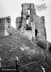 Corfe Castle, The Castle 1952