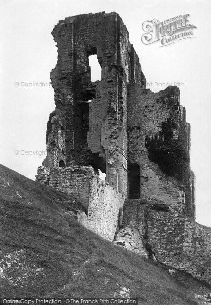 Photo of Corfe Castle, The Castle Keep 1890