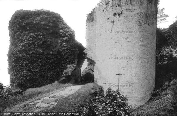 Photo of Corfe Castle, The Martyr's Gateway 1890