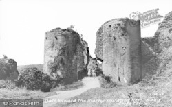 Corfe Castle, The Martyrs Gate c.1960