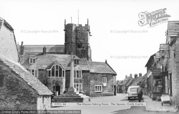 Photo of Corfe Castle, The Mayor's Robing Room, The Square c.1965