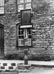 Corfe Castle, Village Sign c.1940