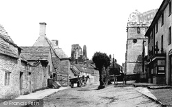 Corfe Castle, West Street 1890