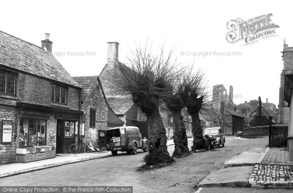 Photo of Corfe Castle, West Street c.1940