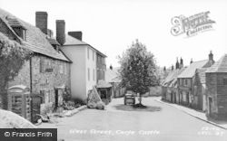 Corfe Castle, West Street c.1955