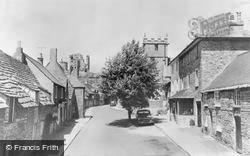 Corfe Castle, West Street c.1960
