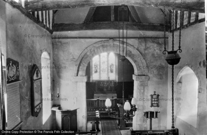 Photo of Corhampton, Church, Interior c.1960