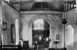 Corhampton, Church, Interior c.1960