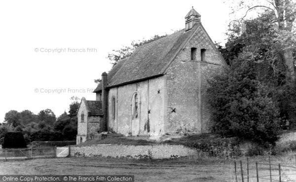 Photo of Corhampton, The Saxon Church c.1960