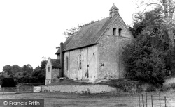 Corhampton, The Saxon Church c.1960