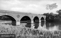Cornhill On Tweed, Coldstream Bridge c.1955, Cornhill On-Tweed
