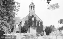 Cornhill On Tweed, St Helen's Church c.1955, Cornhill On-Tweed