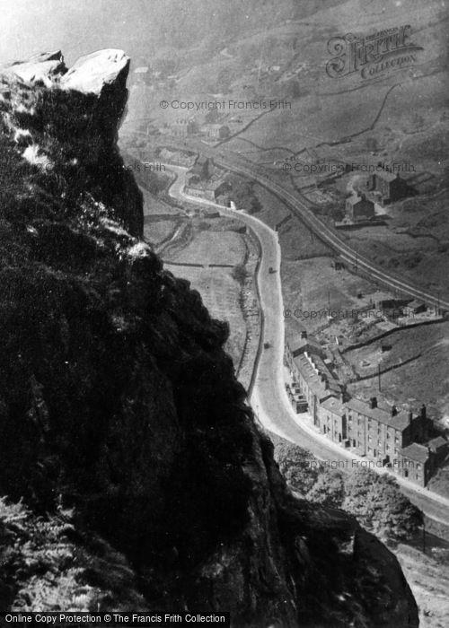 Photo of Cornholme, Eagles Crag c.1960