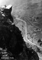 Cornholme, Eagles Crag c.1960