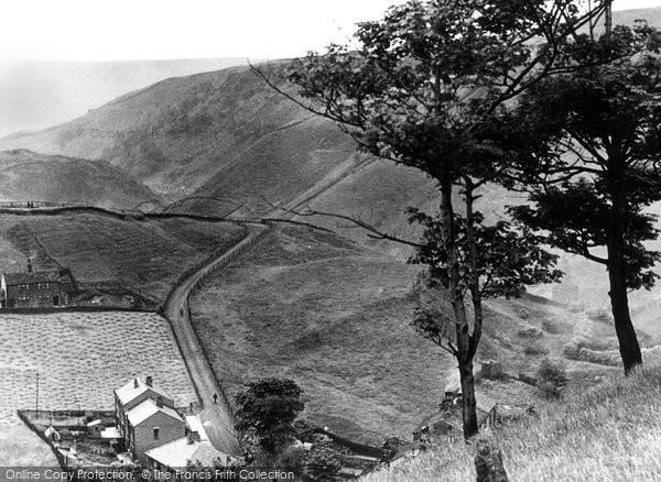 Photo of Cornholme, Road To Shore c.1955