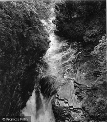 Corrieshalloch Gorge, Falls Of Measach 1952