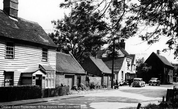 Corringham, Church Road c1955, Essex.  (Neg. C243023)  © Copyright The Francis Frith Collection 2005. http://www.francisfrith.com