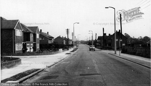 Photo of Corringham, Giffords Cross Housing Estate c1960